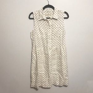 Loft Sleeveless Shirt Dress - Size 8